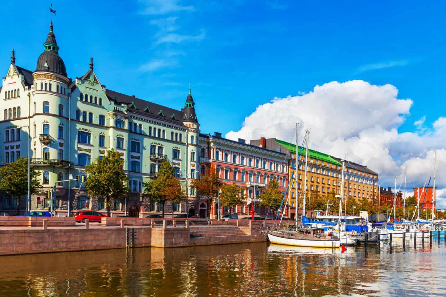 Transfer to Finland Suomi