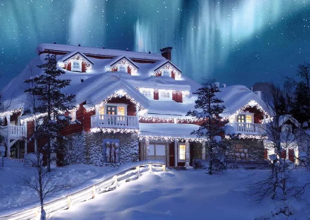 Зимний отдых. Финляндия