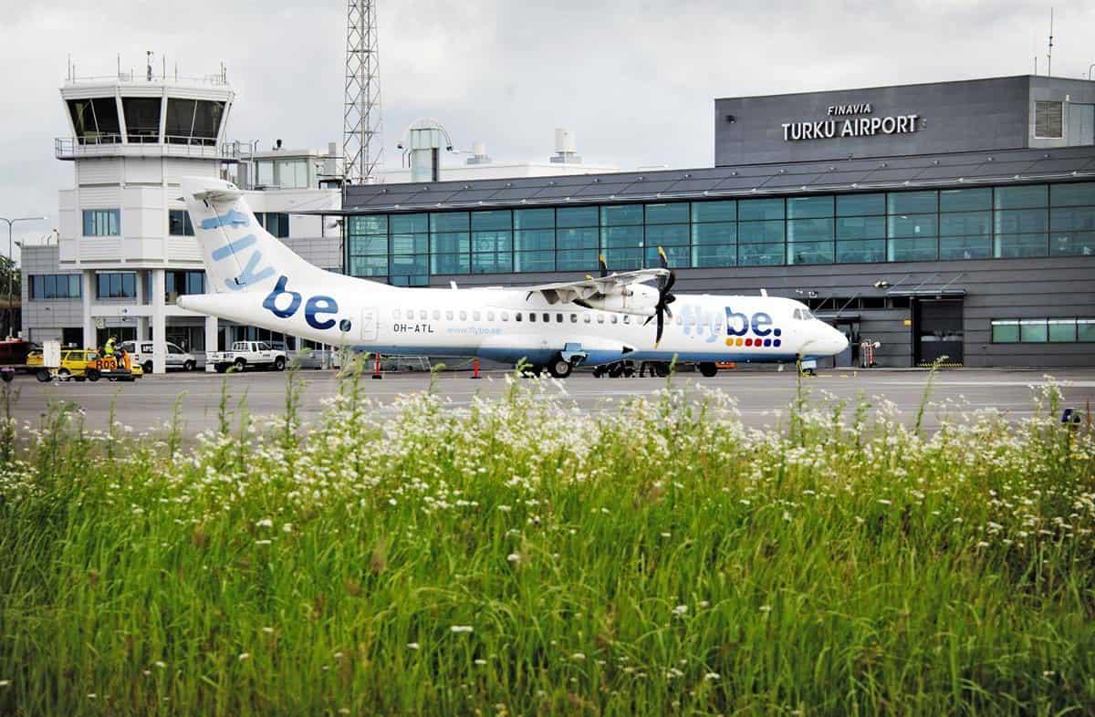 TURKU AIRPORT taxy